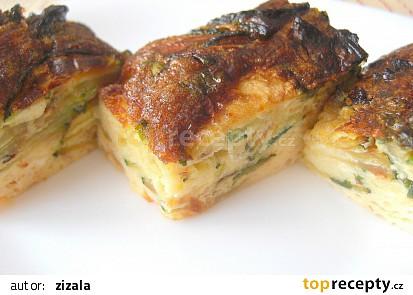 Frittata s cuketou