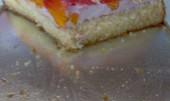 Letní koláč s jahodovým tvarohem