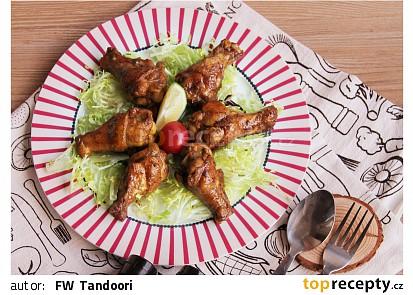 Restovaná kuřecí křídla se sojovou omáčkou