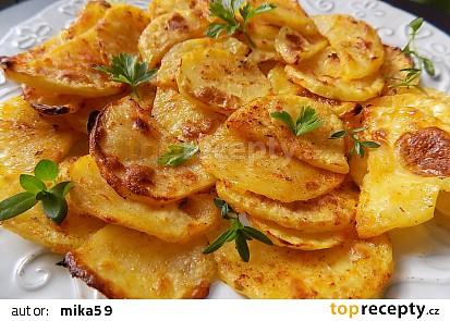 Turecké jogurtové brambory