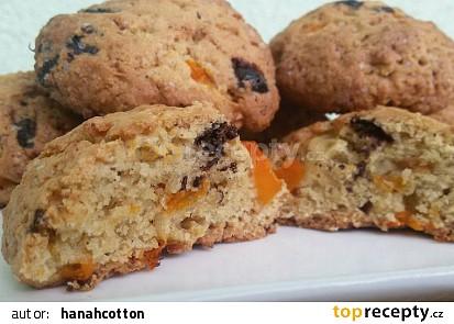 Dýňovo- čokoládové cookies