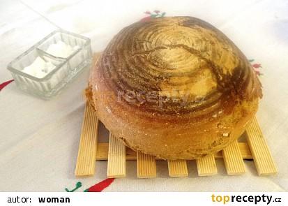 Líný chleba pro trpělivé pekařky