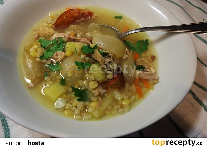 Rumfordská polévka (jušele)