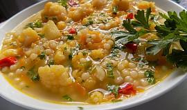 Zeleninová polévka s tarhoňou