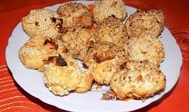 Jablkovo-sezamové sušenky