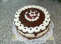 Kakaový dort s višněmi