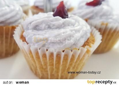 Levandulové cupcakes