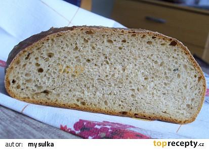 Pšenično - žitný kváskový chléb