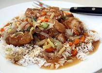 Šanghajské kuře na česneku