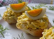 Vajíčková pomazánka s koprem