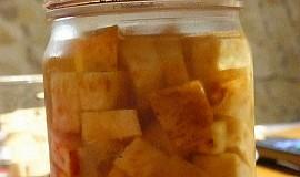 Celer ve sladkokyselém nálevu