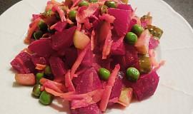 Dietní salát z červené řepy na večeři