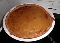 Dýňový koláč (pumpkin pie) s jablky