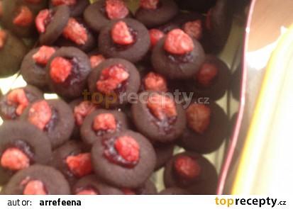 Kakaové kuličky důlkové