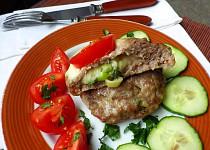 Plněné bochánky z mletého masa