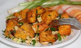 Salát z batátů s arašídy