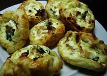 Slané tvarohové mušličky - variace na maltské pastizzi