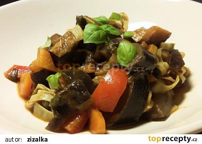 Těstoviny se sladkokyselou zeleninou