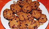 Zdravé rybízové sušenky