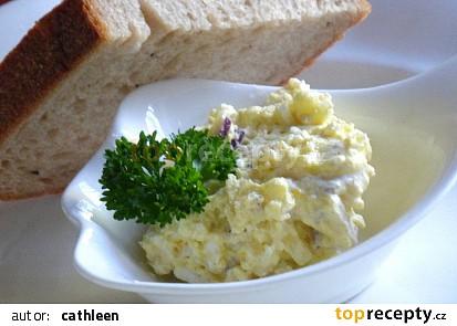 Bramborová pomazánka s vejcem