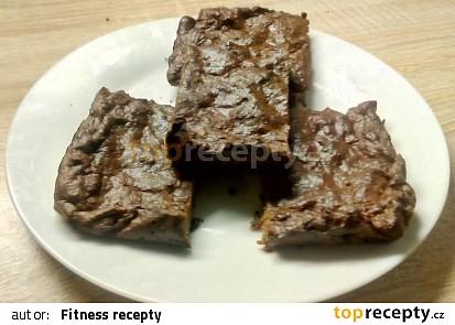 Čokoládovo-proteinová buchta s jablky bez přidaného cukru