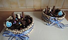 Dětský dort s ganache