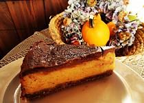 Dýňový koláč s čokoládou