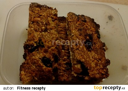 Fitness zdravé musli tyčinky bez přidaného cukru