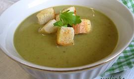 Krémová polévka z pórku a cibule