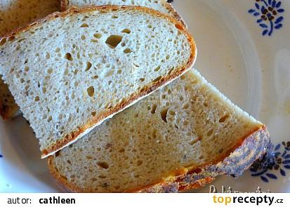 Kváskový chleba se semolou