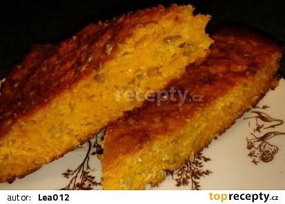 Mrkvový bezlepkový koláč