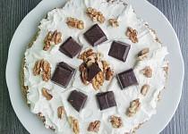 Mrkvový dortík s tvarohovou polevou