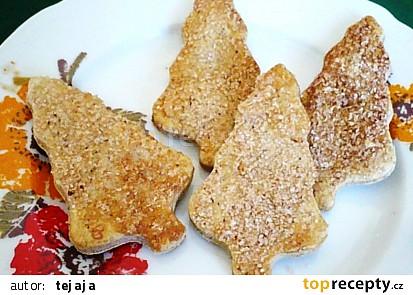 Ořechové sušenky se skořicí