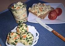 Pomazánka bramborovo-sýrová