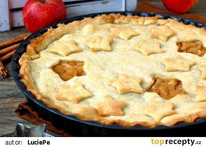 Americký jablečný koláč