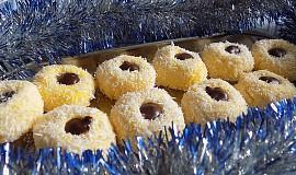 Kokosové kuličky z vařených žloutků