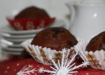 Muffiny s vůní čokolády
