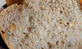 Světlý chleba se semolou a dýňovým semínkem
