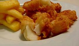 Fish & Chips ze sušené portugalské tresky