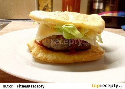 Fitness hamburger