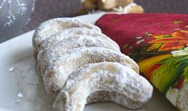 Kaštanovo-ořechové rohlíčky