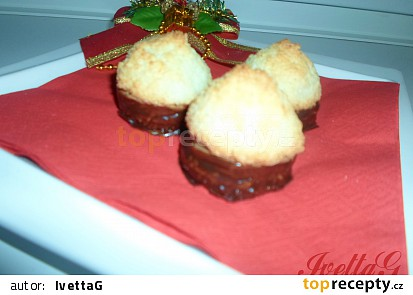 Kokosky s čokoládovým krémem