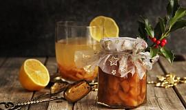 Pečený zázvorový čaj s citrusy