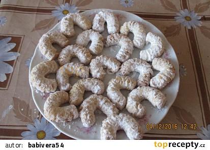 Vanilkové rohlíčky I.
