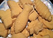 Bezlepkové žloutkové cukroví z formiček (z receptáře naší prababičky)