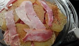 Zapečené brambory se smetanou 1