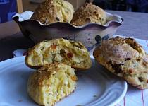 Bochánky s cottage sýrem
