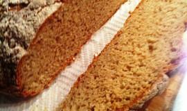 Chléb podle mé sousedky, nehnětený a bez kvasnic