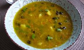 Fazolovo-pohanková polévka