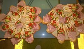 Naše chlebíčky s výbornou pomazánkou